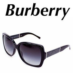 Burberry Sunglasses Black Check Print
